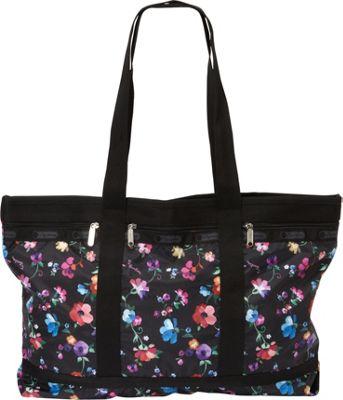 LeSportsac Classics Travel Tote Impressionist Flower - LeSportsac Fabric Handbags