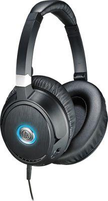 Audio Technica ATH-ANC70  QuietPoint Active Noise-Cancelling Headphones Black - Audio Technica Headphones & Speakers