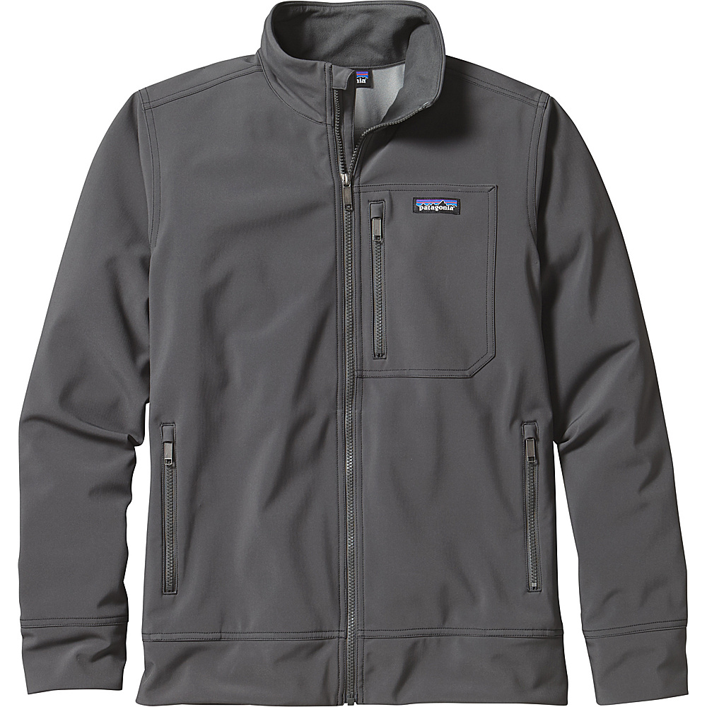 Patagonia Mens Sidesend Jacket XS - Forge Grey - Patagonia Mens Apparel - Apparel & Footwear, Men's Apparel