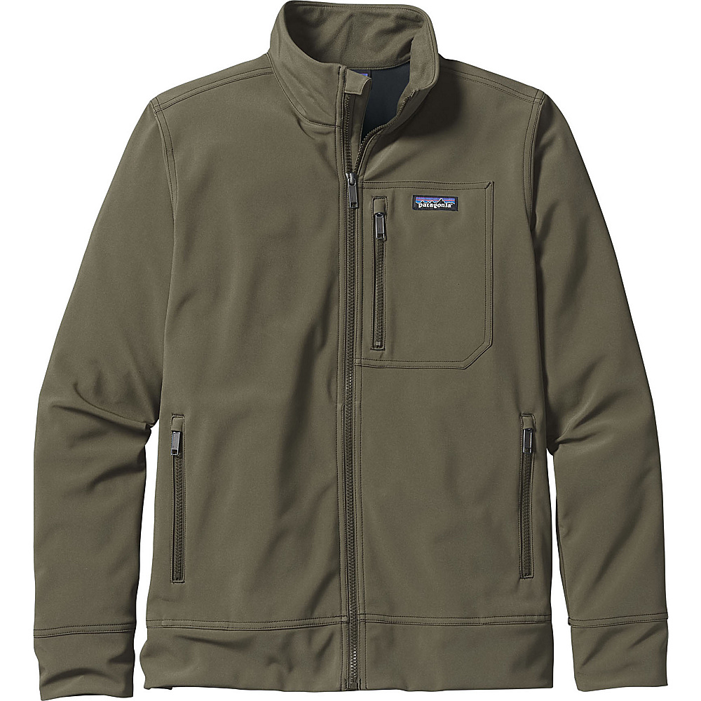 Patagonia Mens Sidesend Jacket XS - Industrial Green - Patagonia Mens Apparel - Apparel & Footwear, Men's Apparel