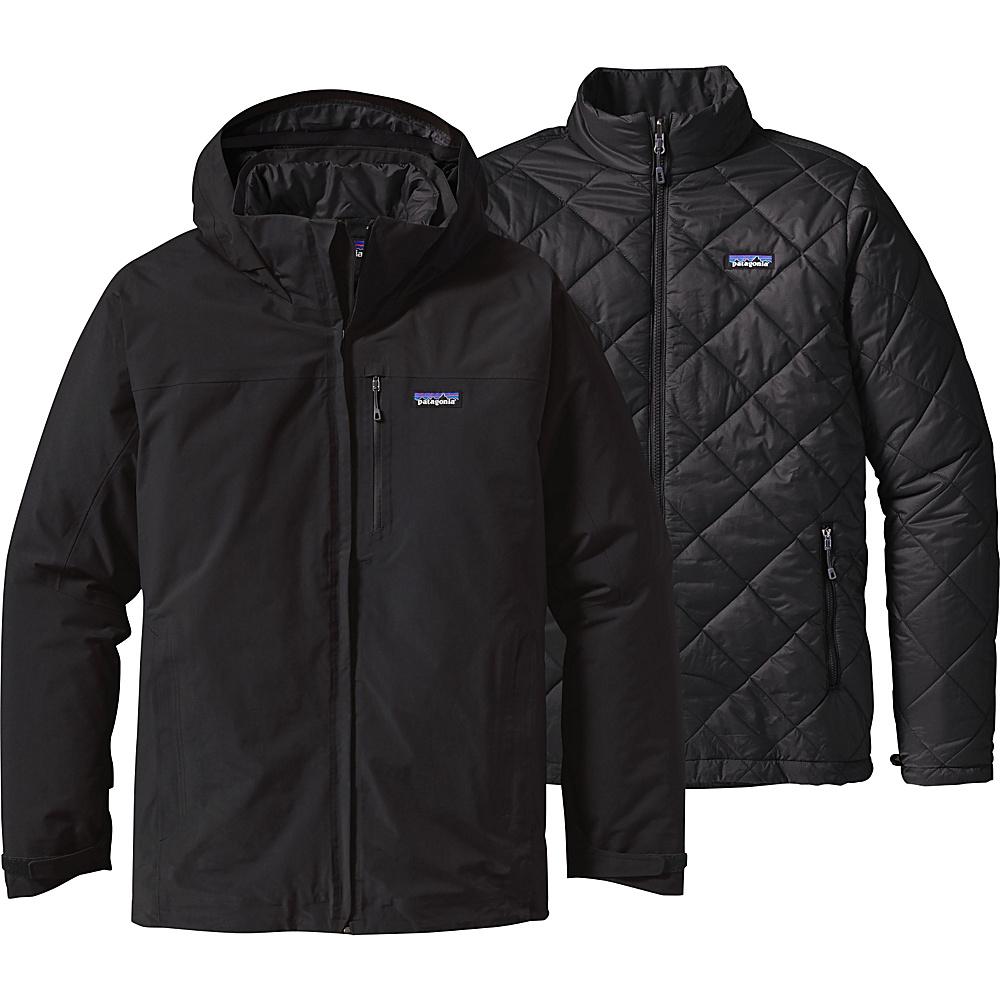 Patagonia Mens Windsweep 3-in-1 Jacket XS - Black - Patagonia Mens Apparel - Apparel & Footwear, Men's Apparel