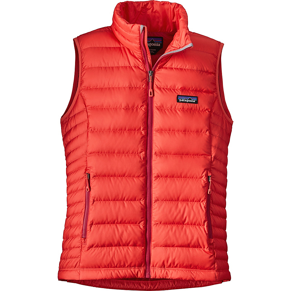 Patagonia Womens Down Sweater Vest XS - Carve Coral - Patagonia Womens Apparel - Apparel & Footwear, Women's Apparel