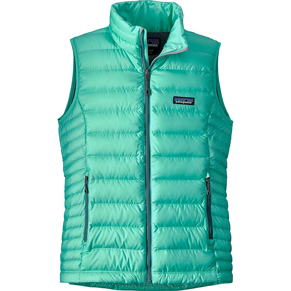 Patagonia Womens Down Sweater Vest L - Galah Green - Patagonia Womens Apparel - Apparel & Footwear, Women's Apparel
