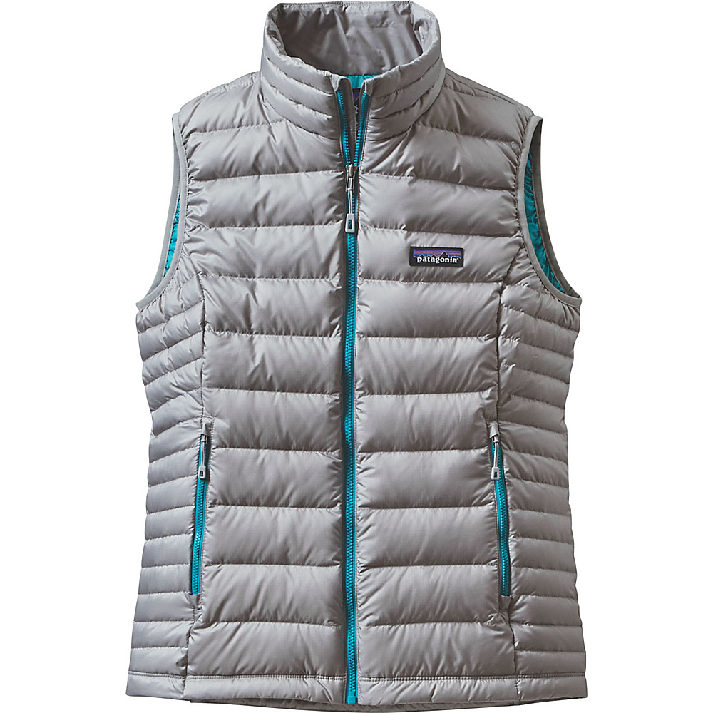 Patagonia Womens Down Sweater Vest M - Drifter Grey - Patagonia Womens Apparel - Apparel & Footwear, Women's Apparel