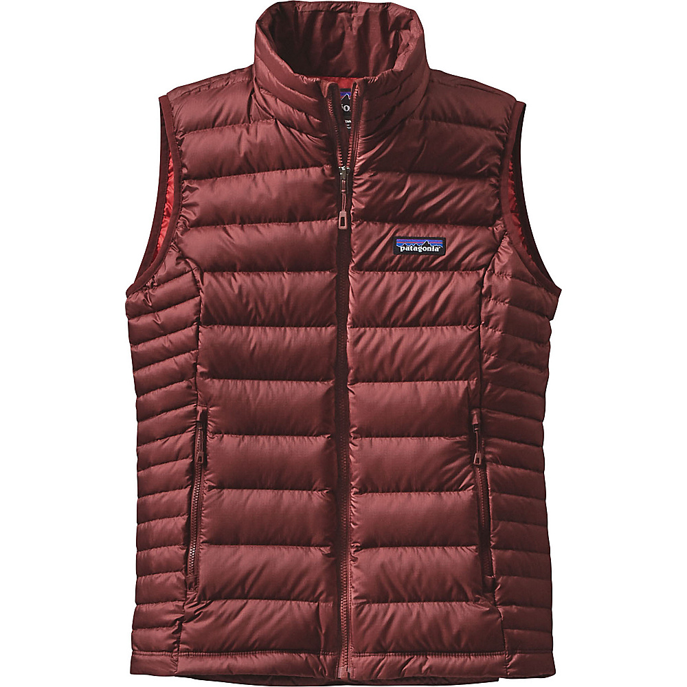 Patagonia Womens Down Sweater Vest XL - Drumfire Red - Patagonia Womens Apparel - Apparel & Footwear, Women's Apparel