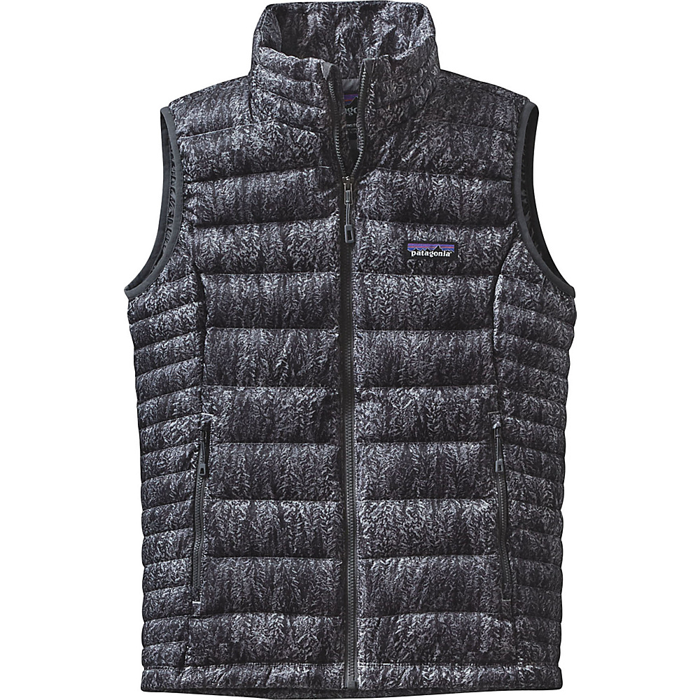 Patagonia Womens Down Sweater Vest S - Forestland: Tailored Grey - Patagonia Womens Apparel - Apparel & Footwear, Women's Apparel