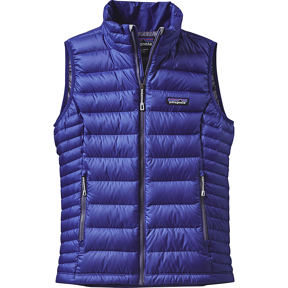 Patagonia Womens Down Sweater Vest XS - Harvest Moon Blue - Patagonia Womens Apparel - Apparel & Footwear, Women's Apparel