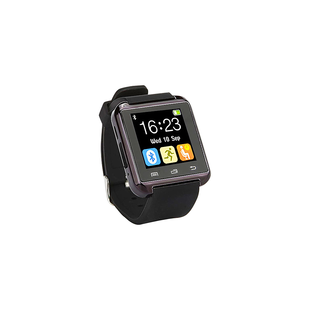 Koolulu Bluetooth Smart Watch for iOS Android Black Koolulu Wearable Technology