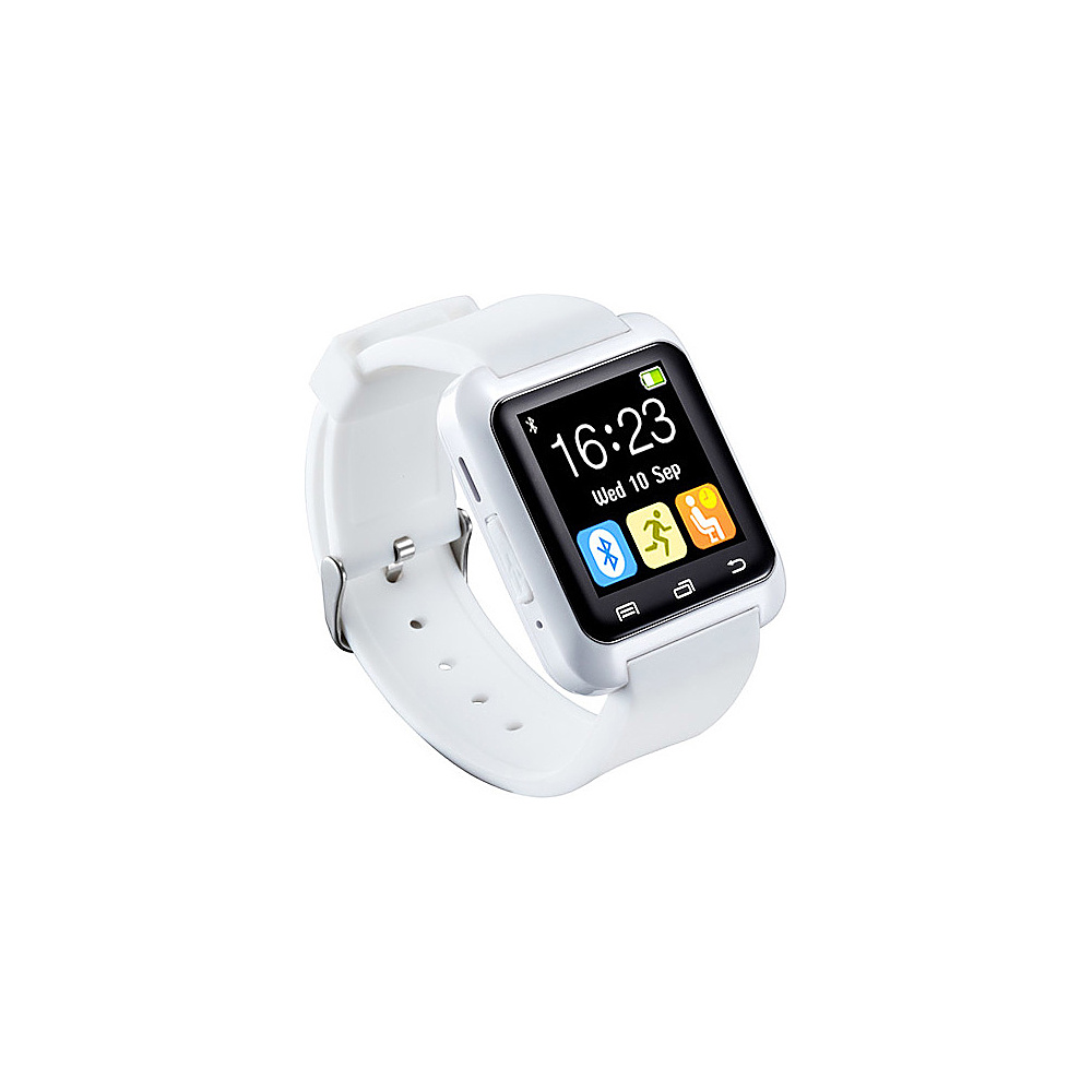 Koolulu Bluetooth Smart Watch for iOS & Android White - Koolulu Wearable Technology