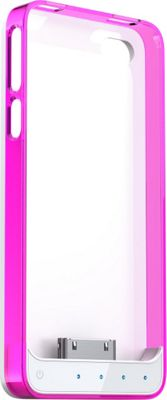 Mota Extended Battery Protective Case iPhone 4/4S - MFI Pink - Mota Electronic Cases