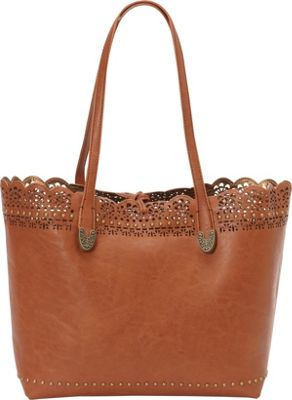 Bandana Darlington Filigree Day Tote Saddle - Bandana Manmade Handbags
