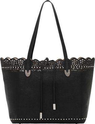 Bandana Darlington Filigree Day Tote Black - Bandana Manmade Handbags