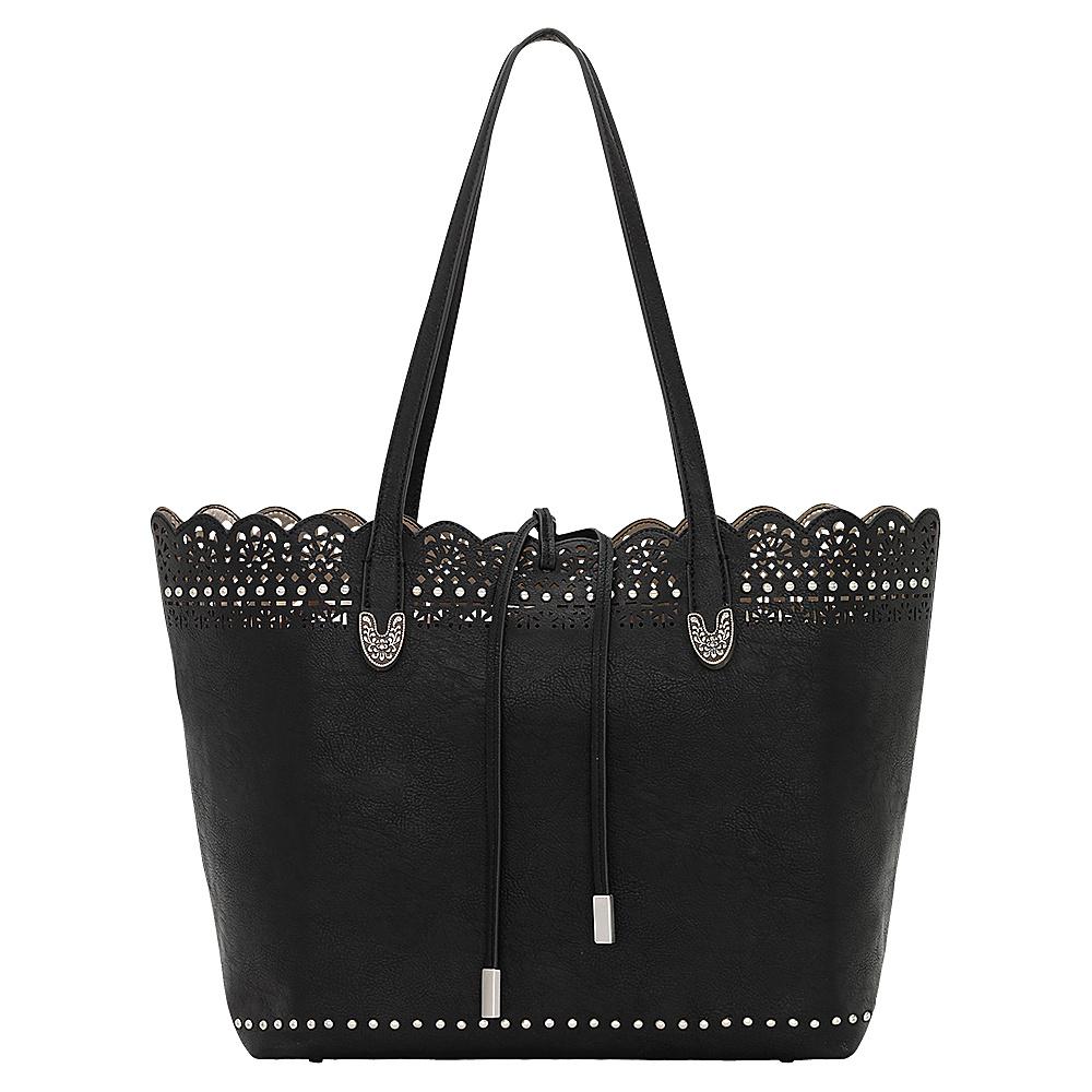 Bandana Darlington Filigree Day Tote Black Bandana Manmade Handbags