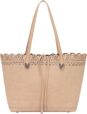 Bandana Darlington Filigree Day Tote Cream - Bandana Manmade Handbags