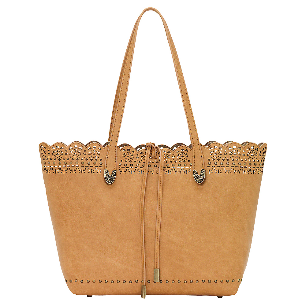 Bandana Darlington Filigree Day Tote Golden Tan Bandana Manmade Handbags