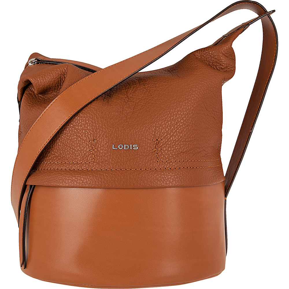 Lodis Kate Toby Convertible Bucket Toffee - Lodis Leather Handbags - Handbags, Leather Handbags