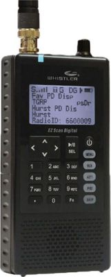 Whistler Group WS1088 Digital Scanner Black - Whistler Group Car Travel