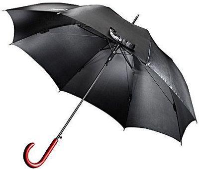 ShedRain WindPro Stick Umbrella Black - ShedRain Umbrellas and Rain Gear