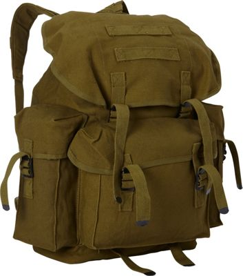 Fox Outdoor Large NATO Style Rucksack Olive Drab - Fox Outdoor Everyday Backpacks