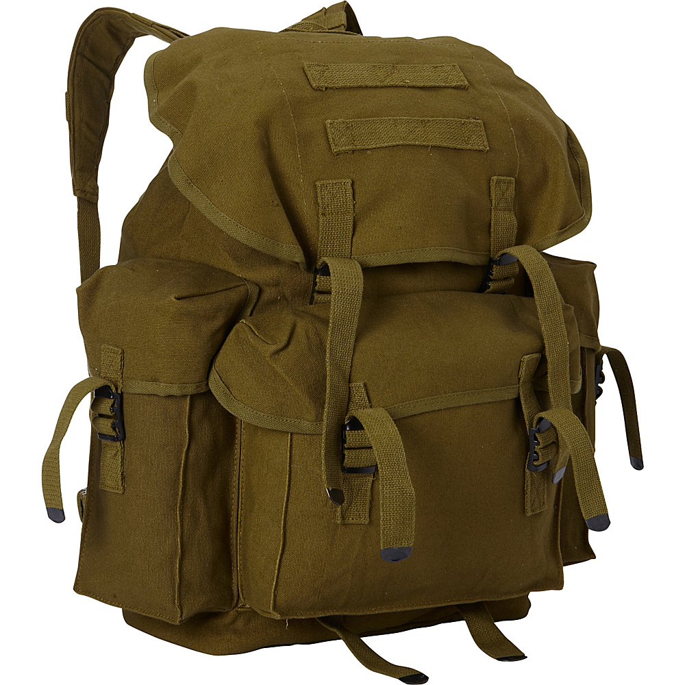 Fox Outdoor Large NATO Style Rucksack Olive Drab Fox Outdoor Everyday Backpacks