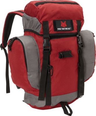 Fox Outdoor Rio Grande 25L Backpack Burgundy - Fox Outdoor Day Hiking Backpacks