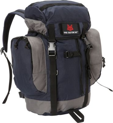 Fox Outdoor Rio Grande 25L Backpack Navy - Fox Outdoor Day Hiking Backpacks