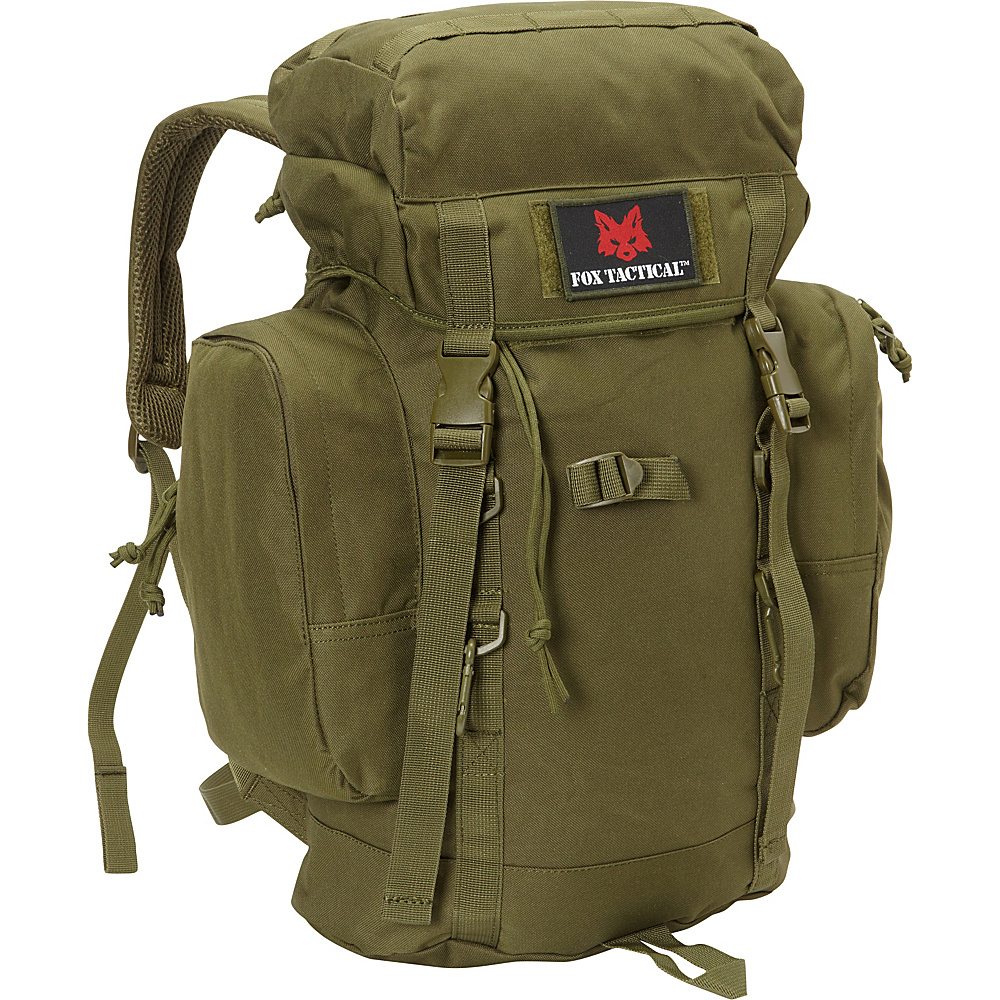 Fox Outdoor Rio Grande 25L Backpack Olive Drab Fox Outdoor Day Hiking Backpacks