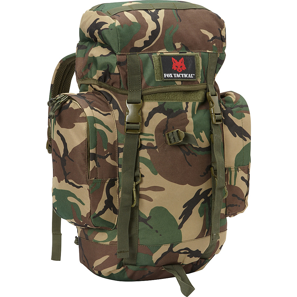 Fox Outdoor Rio Grande 25L Backpack British DPM Camo Fox Outdoor Day Hiking Backpacks