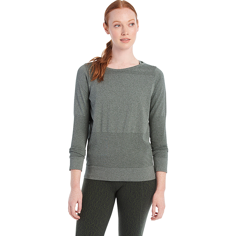 Lole Ilsa Top XL - Green Heather - Lole Womens Apparel - Apparel & Footwear, Women's Apparel