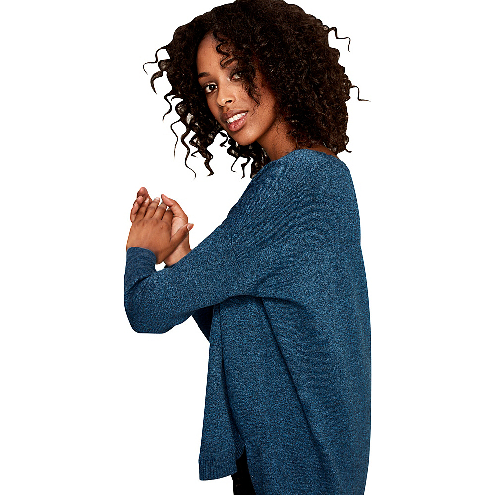 Lole Martha Sweater L - Seaport Heather - Lole Womens Apparel - Apparel & Footwear, Women's Apparel