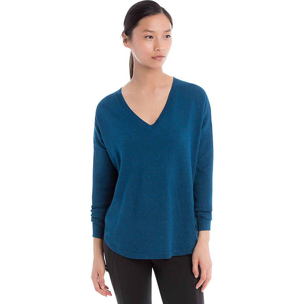 Lole Martha Sweater XS - Dark Marine Heather - Lole Womens Apparel - Apparel & Footwear, Women's Apparel