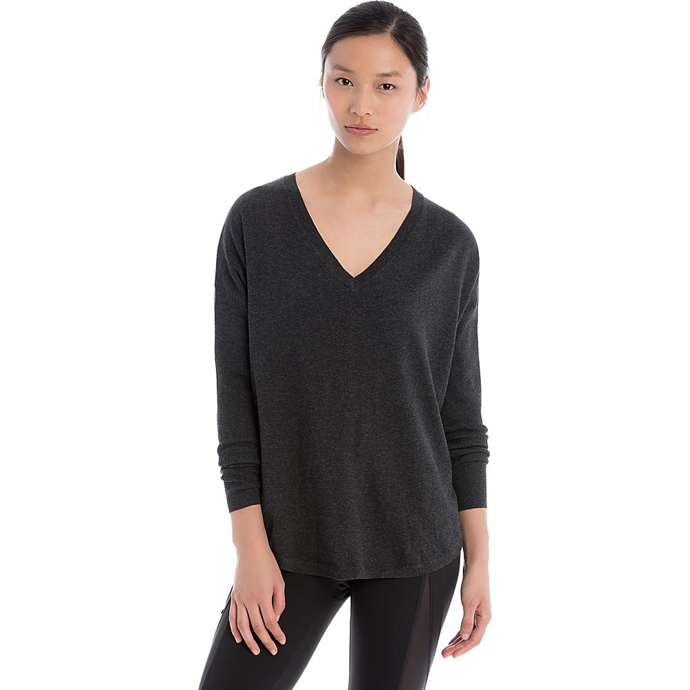 Lole Martha Sweater XS - Black Heather - Lole Womens Apparel - Apparel & Footwear, Women's Apparel