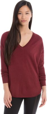 Lole Martha Sweater M - Rumba Red Heather - Lole Women's Apparel