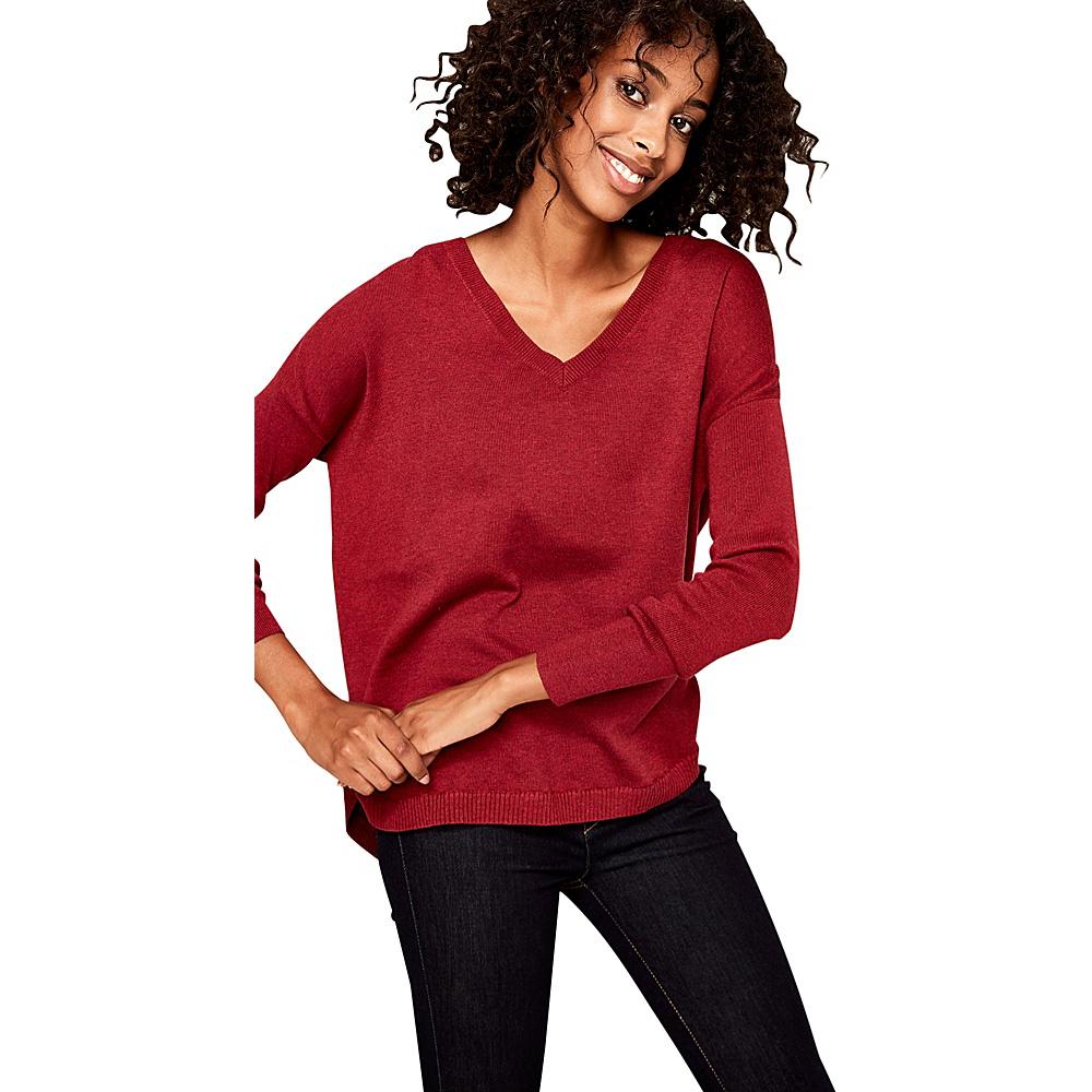 Lole Martha Sweater S - Cabernet Heather - Lole Womens Apparel - Apparel & Footwear, Women's Apparel