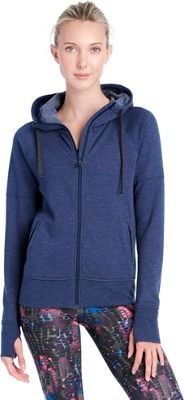 Lole Unite Hooded Cardigan S - Amalfi Blue Heather - Lole Women's Apparel