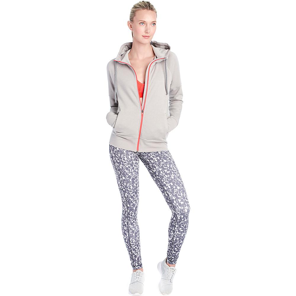 Lole Unite Hooded Cardigan XS - Warm Grey Heather - Lole Womens Apparel - Apparel & Footwear, Women's Apparel