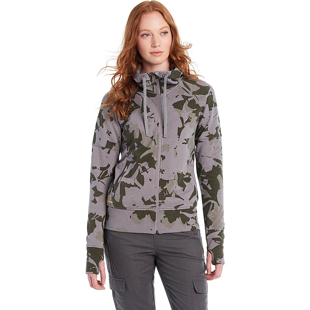 Lole Unite Hooded Cardigan XL - Green Drizzle - Lole Womens Apparel - Apparel & Footwear, Women's Apparel