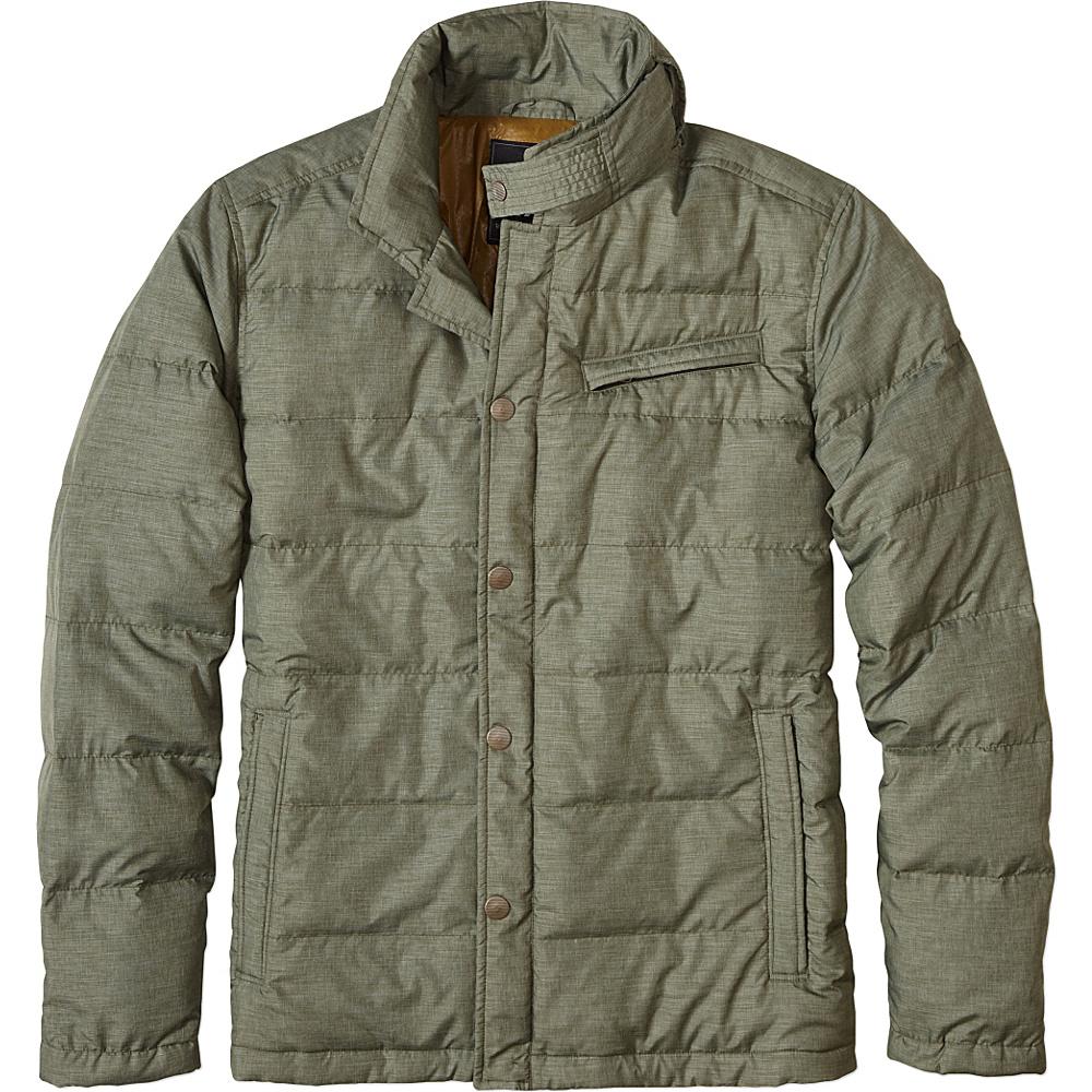 PrAna Rhett Down Blazer Coat L - Dark Olive - PrAna Mens Apparel - Apparel & Footwear, Men's Apparel