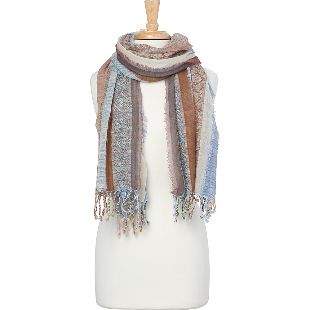 PrAna Mae Scarf Aspen Blue - PrAna Hats/Gloves/Scarves - Fashion Accessories, Hats/Gloves/Scarves