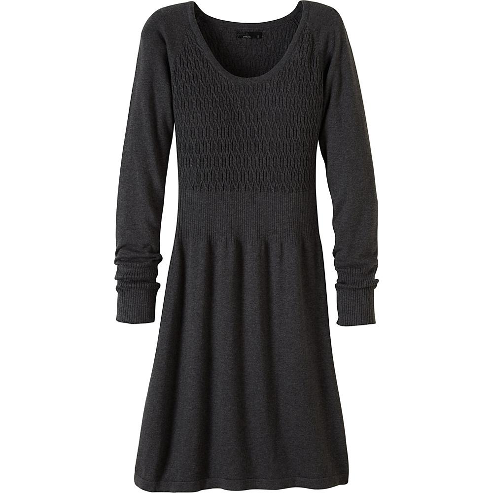 PrAna Zora Dress S - Charcoal - PrAna Womens Apparel - Apparel & Footwear, Women's Apparel