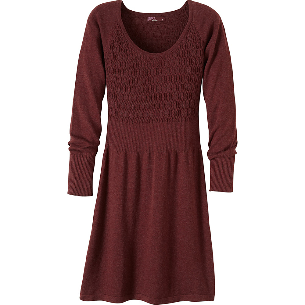 PrAna Zora Dress XL - Raisin - PrAna Womens Apparel - Apparel & Footwear, Women's Apparel