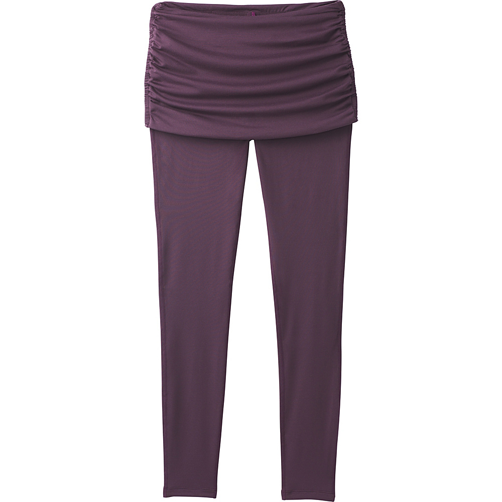 PrAna Remy Legging XL - Dark Plum - PrAna Womens Apparel - Apparel & Footwear, Women's Apparel