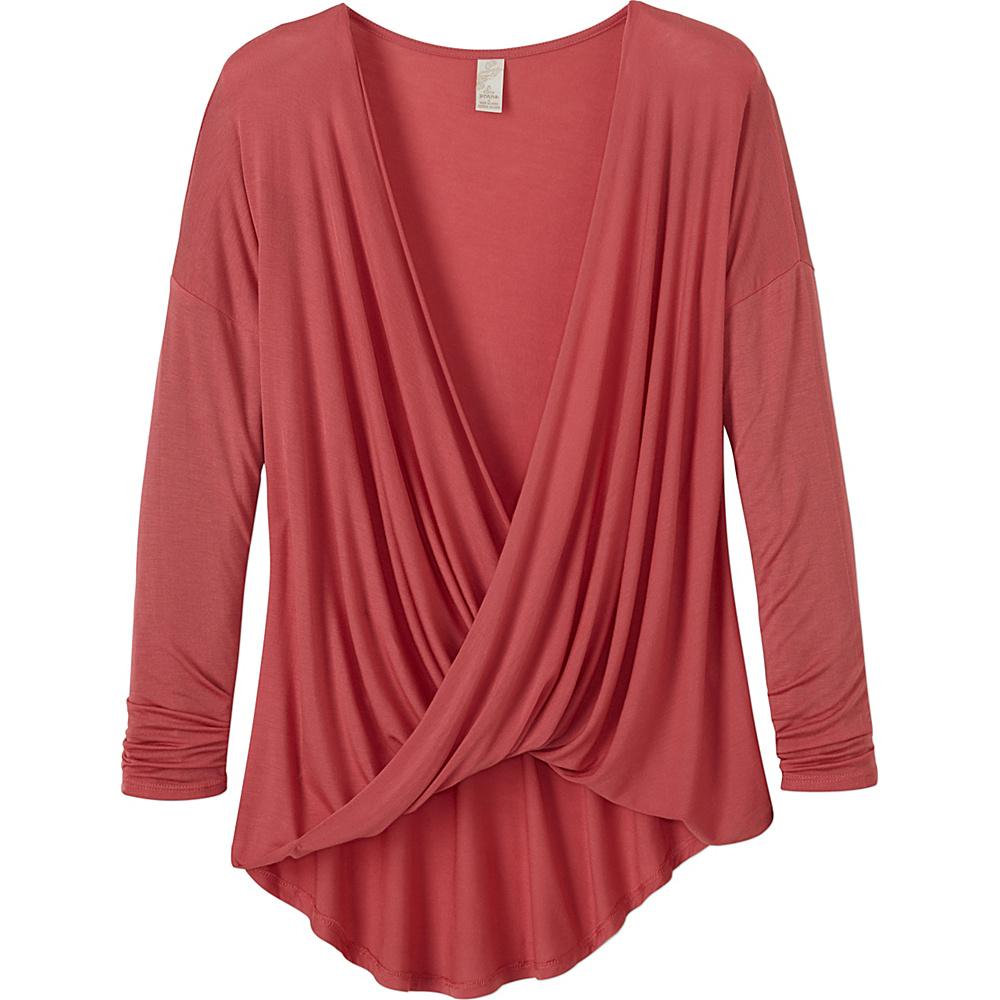 PrAna Cascade Top M - Red Slate - PrAna Womens Apparel - Apparel & Footwear, Women's Apparel