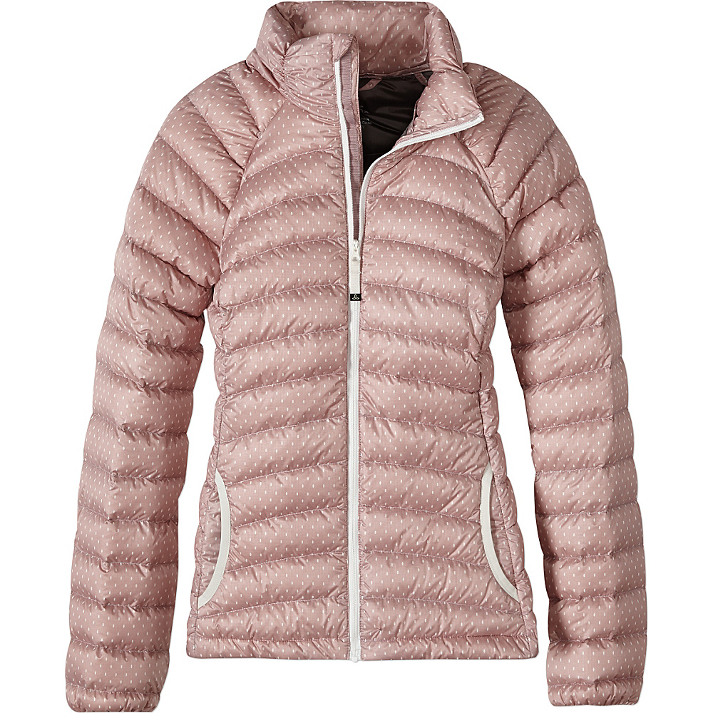 PrAna Lyra Jacket S - Mauve A Lot A Dots - PrAna Womens Apparel - Apparel & Footwear, Women's Apparel
