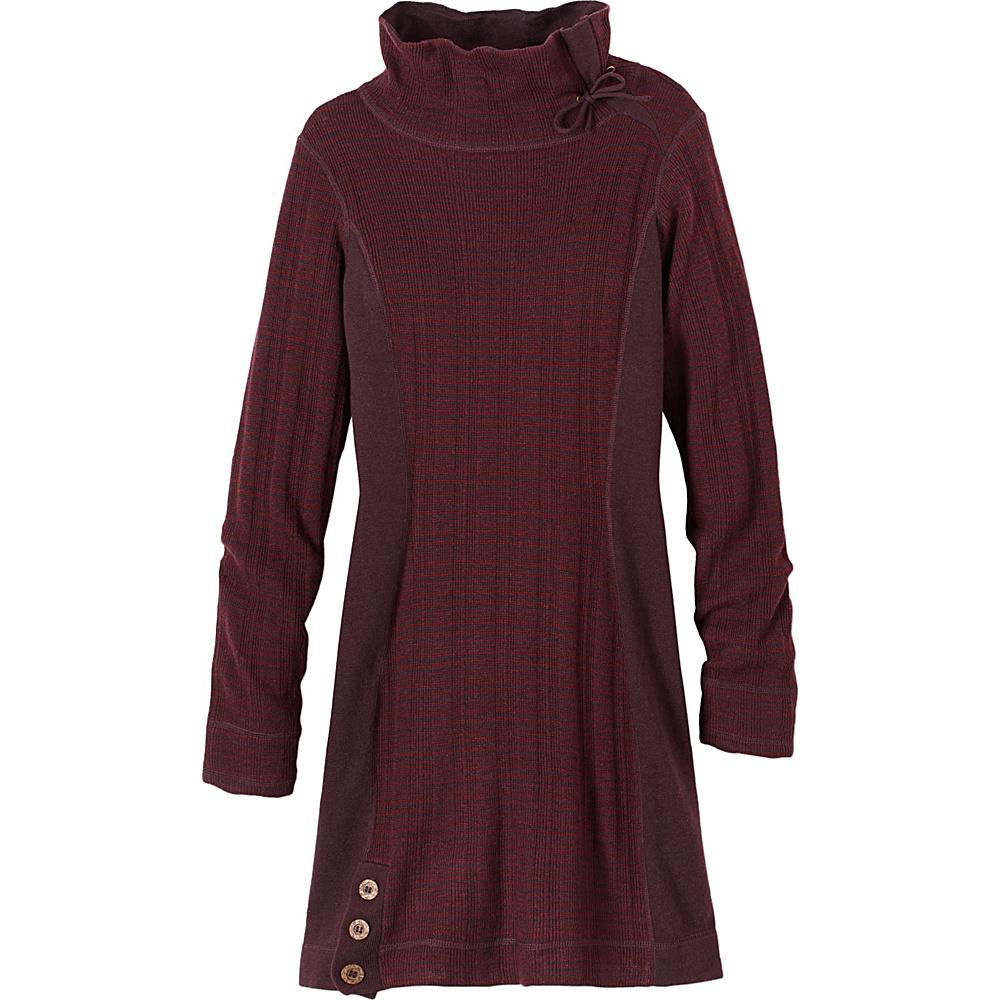 PrAna Kelland Dress L - Burgundy - PrAna Womens Apparel - Apparel & Footwear, Women's Apparel