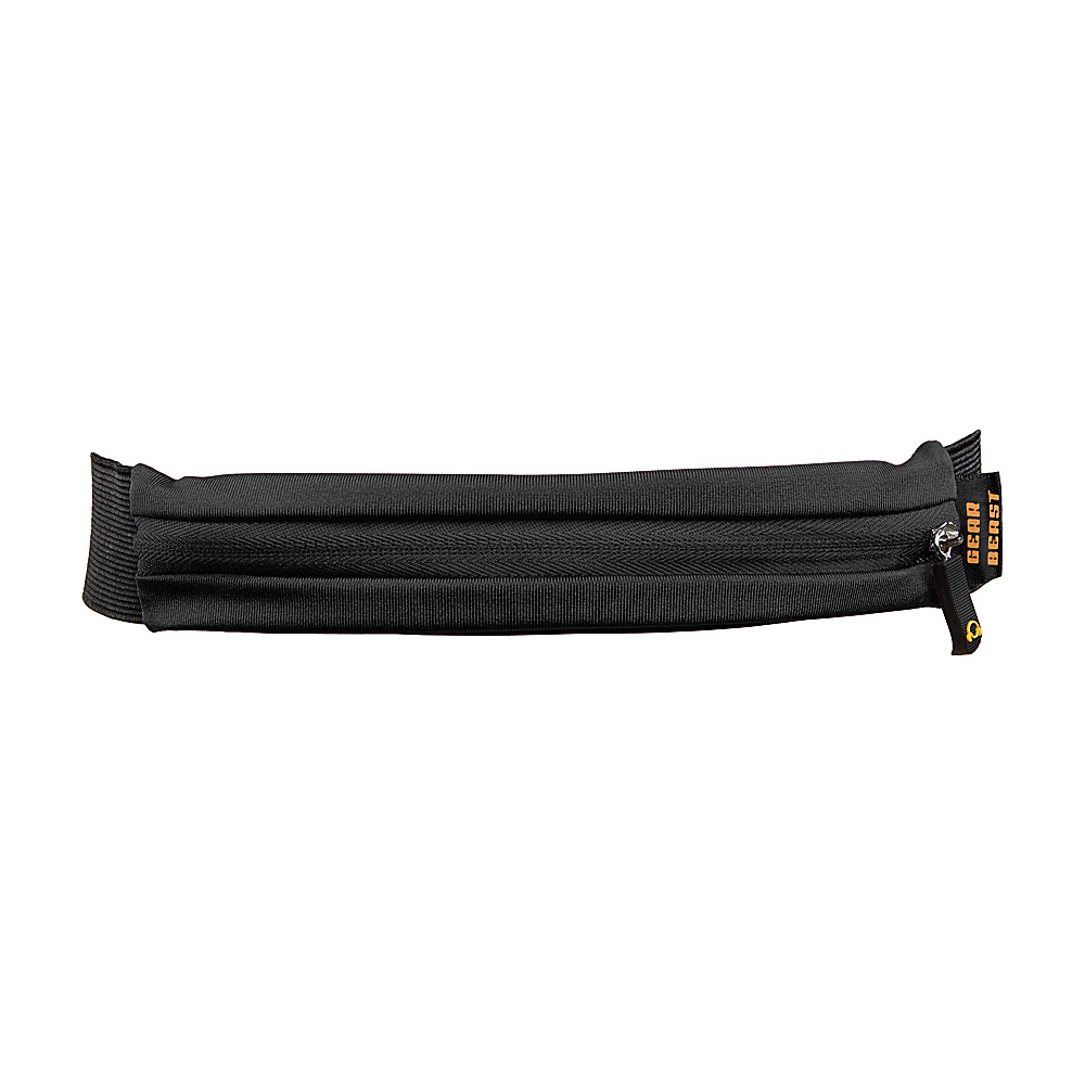 Gear Beast Waist Pack Running Belt Black Gear Beast Sports Accessories