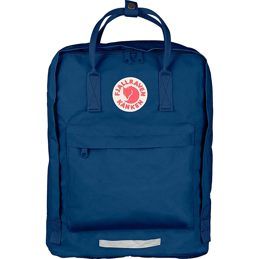 Fjallraven Maxi Kanken Backpack Royal Blue - Fjallraven Everyday Backpacks - Backpacks, Everyday Backpacks