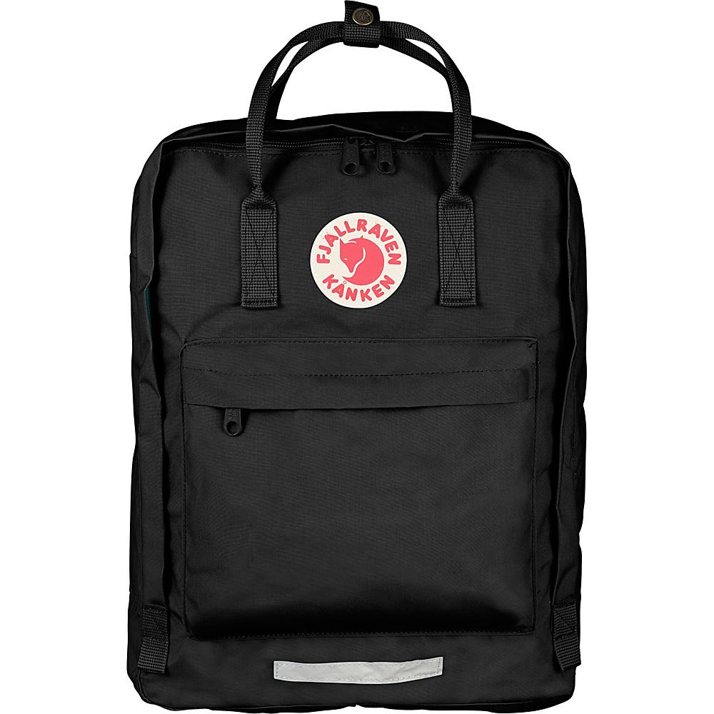 Fjallraven Maxi Kanken Backpack Black - Fjallraven Everyday Backpacks - Backpacks, Everyday Backpacks