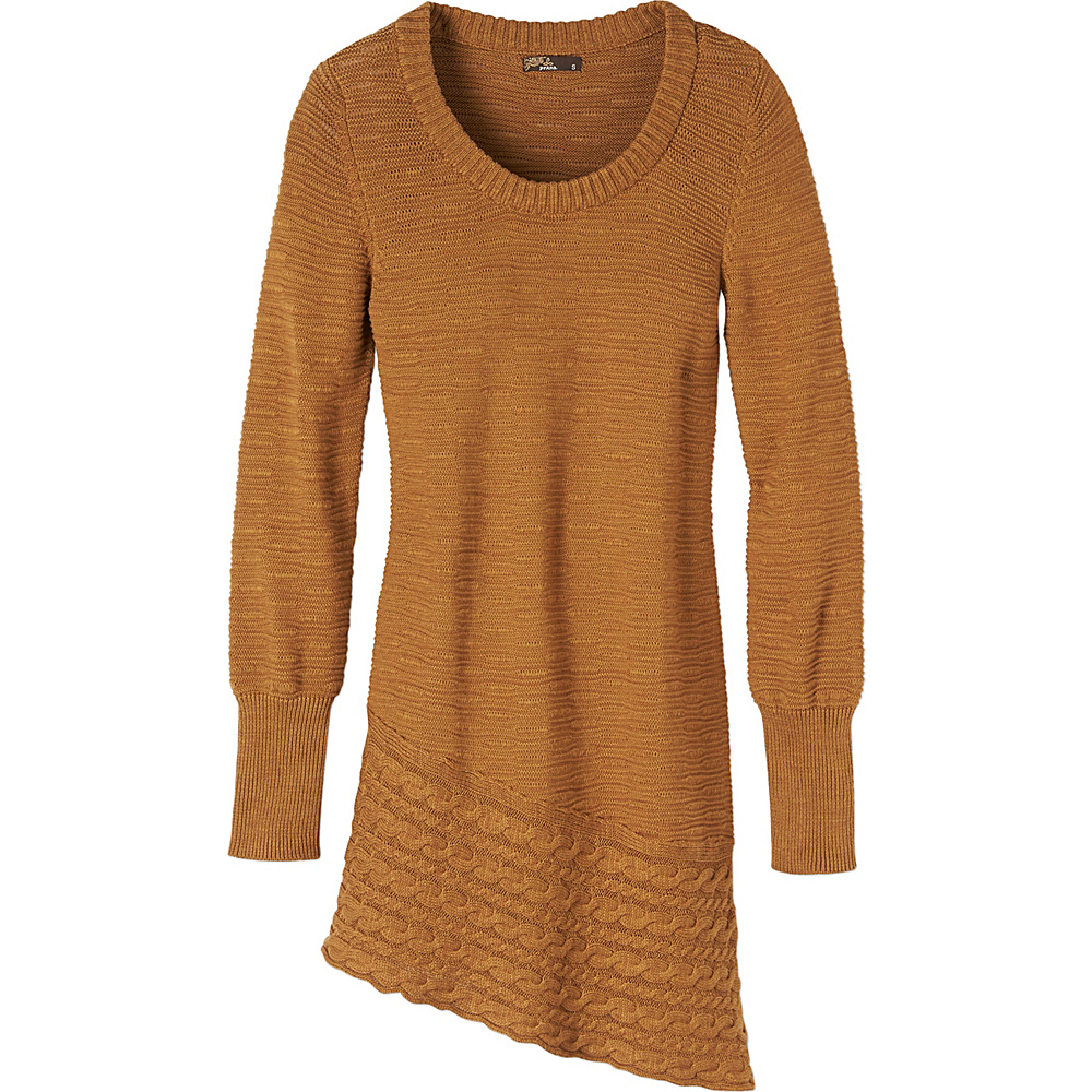 PrAna Felicia Tunic S - Dark Ginger - PrAna Womens Apparel - Apparel & Footwear, Women's Apparel