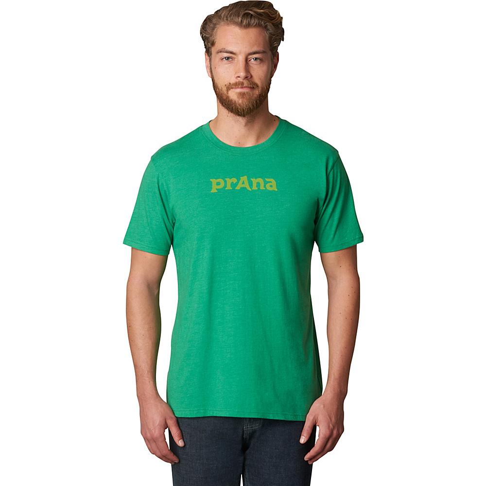 PrAna Logo Shirt XL - Peacock Eye - PrAna Men's Apparel